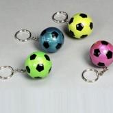 Soccer-metallic-keychain